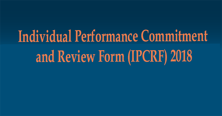 Individual Performance Commitment and Review Form (IPCRF