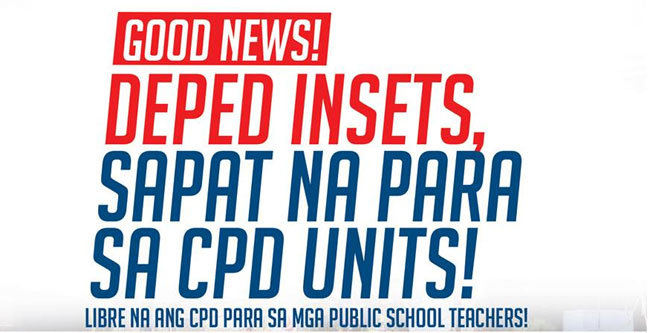 PRC Approves INSET or Semestral Break Training for Teachers to Fulfill CPD Requirements